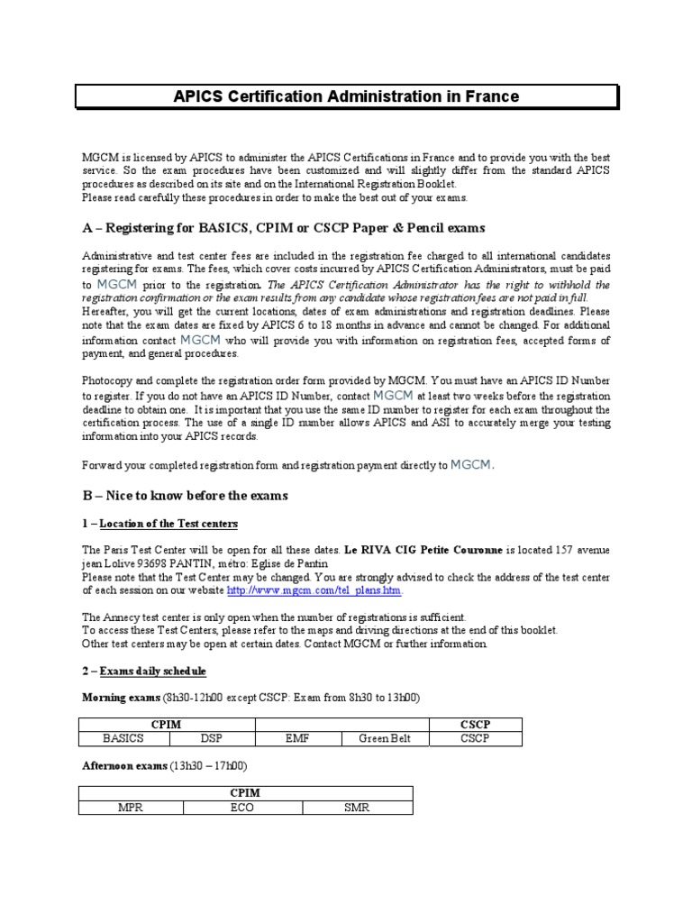 Apics exam information registration and scoring identity apics exam information registration and scoring identity document thermometer xflitez Gallery
