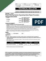 67 Power Steering Squeaking Repair Procedure