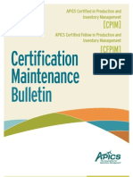 CPIM_MaintenanceBulletin