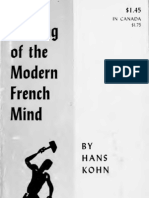 The Making of the Modern French Mind, By Hans Kohn