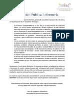 Declaracion Publica Enfermeria 2 de Junio
