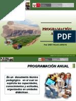 Programacion Educación Para el Trabajo 2011