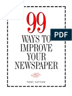 99 Ways to Improve Your Newspaper