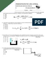 Examen Parcial de Fisica B Segundo Termino 2006