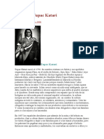 Biografia Tupac Katari
