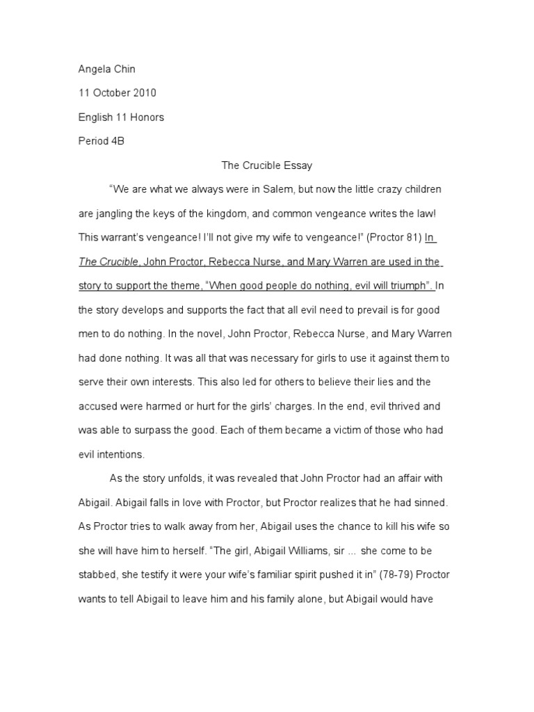 the crucible rough draft
