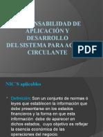 RESPONSABILIDAD DE APLICACIÓN Y DESARROLLO