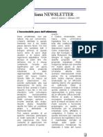 AIPPI Italiana NEWSLETTER Anno X, Numero 1, Gennaio 2005