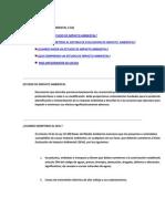 Estudios de Impacto Ambiental1