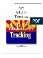 ALIS Tracking System Manual
