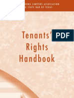 Tenants Rights Pamphlet