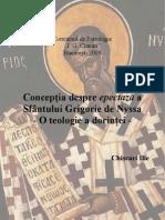 Epectaza La Sf. Grigorie de Nyssa