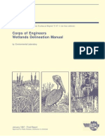 Corps of Engineers Wetlands Delineation Manual