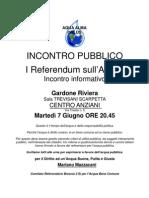 Incontro Acqua GARDONE-7 Giugno1