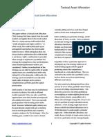 Capital Context Credit-Informed Tactical Asset Allocation