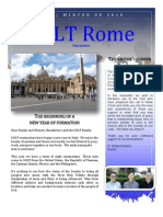 Rome Seminarians Newsletter Fall/Winter 2010