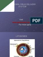 Liposome Drug Delivery System