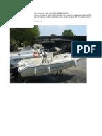 Barca a Per Famiglie Con Bambini e Per La Pesca