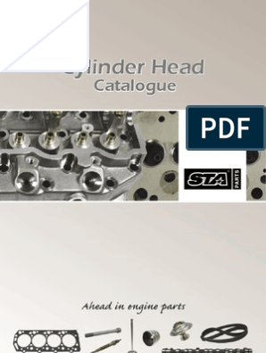 Cylinder Head Cat | Systems Engineering | Internal