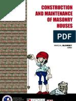 Construction and Maintenance of Masonry Houses
