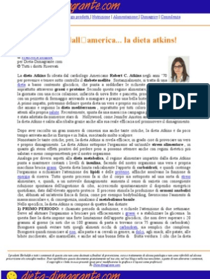 disintossicazione di succhi per perdere peso pdf