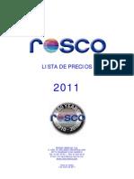 listaprecios2011rosco