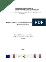 08_Reglarea Automata a Parametrilor Proceselor Tehnologice