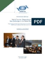 World Tourism Seminar