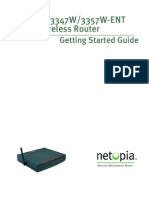 User Guide 3347W-EnT Qsg