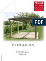Catalogue Pergolas