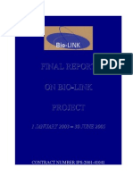 Final Report on Bio-Link Project