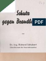 Schutz gegen Brandbomben - Richard Schubert
