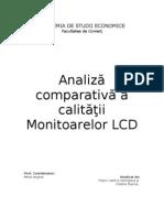 analiză comparativă a ecranelor LCD