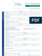 RCM-Applicationform