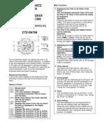 Citizen Navihawk Manual Book