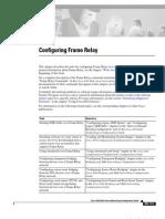 Frame Relay Configuration