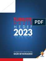 akp-2011 seçim beyannamesi