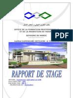 Rapport de Stage de Restaurant