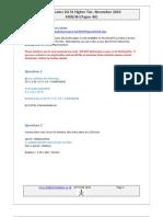 Edexcel Paper 4 2010 November