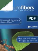Dyneema, The World's Strongest Fiber