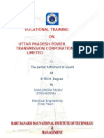 36109419 Summer Training Report on Unnao Sub Station(2)