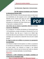 Resumen de Noticias Matutino 05-06-2011
