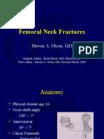 L02 Femoral Neck Fx