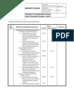 Detailed Teaching Syllabus - PART C Rev.0