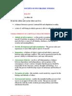 Basic Concepts of Psychiatric Nursing