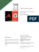 Cesar Santoro Nacionalsocialismo(Plan de Hitler Contra El Socialismo Internacional