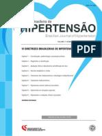 VI Diretrizes Brasileira de Hipertensão