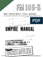 1947 Umpire Manual