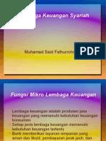 Lembaga Keuangan Konvensional vs Islam