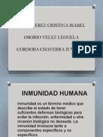 diapositiva inmunidad humana 123